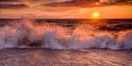 sunset-wave