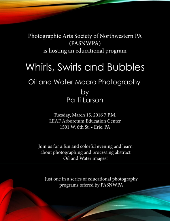 PASNWPA Oil&Water Presentation 2016